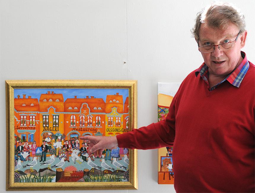 Per-Olof Olsson talar om sitt konstnärskap